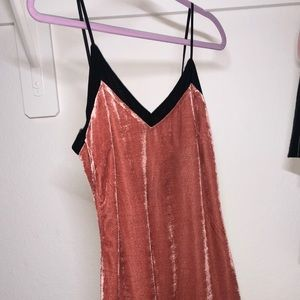Brand New Volcom velvet dress